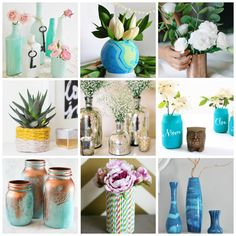 30+ Gorgeous DIY Vase Ideas To Decorate Your Home - Craving some Creativity