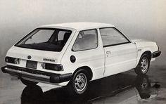1984 Subaru Hatchback. My high school car. Mine was sky blue. Loved that car.