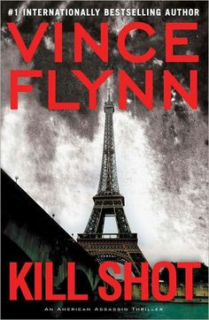 The title doesn't show up, but it's Kill Shot.  Cannot wait for Tuesday!  LOVE Vince Flynn & he's local (from St Paul and he served me beer at O'Garas years ago).