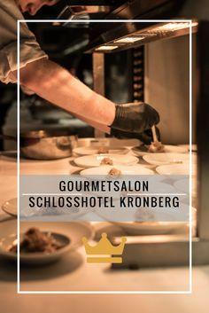 Exklusives Erlebnis für Gourmets: Gourmetsalon im Schlosshotel Kronberg bei Frankfurt