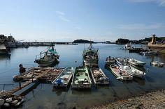 Historical Famous fishing harbor