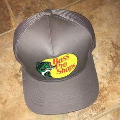 Bass Pro Shops Hat Mesh Adjustable SnapBack Trucker Baseball Fishing  Outdoor Cap  fashion  clothing 57609b49ca6d