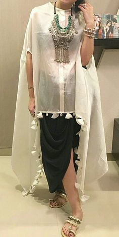 for this Tailer fit designer wear Ethnic Fashion, Hijab Fashion, Indian Fashion, Fashion Dresses, Pakistani Dresses, Indian Dresses, Indian Outfits, Mode Abaya, Mode Hijab