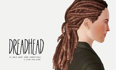 i-like-teh-sims:    DREAD HEAD - MALE UL DREADS FOR BASE GAME  Since a good seven or eight people asked for these, I figured I'd do it before I went to bed. This hair is just awesome, really. Ten points for EA.  (I'll likely extract more things sometime, so if you want something and can't get the game, don't be shy to speak up!)  DOWNLOAD    *¬* Thanks!