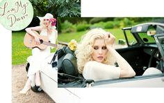 "Blog ""LOVE MY DRESS"" shoot featuring Circa Vintage Brides Bianca"