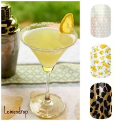 Margaritas and Manis. The perfect combination! www.maggiesmanis.jamberrynails.net