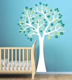 baby boy nursery wall decal...love it w the teal wall