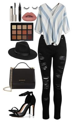 """""""Street Style"""" by chap15906248 ❤ liked on Polyvore featuring Dorothy Perkins, Boohoo, Givenchy, Lack of Color, Morphe, Ilia, MAC Cosmetics and tarte"""