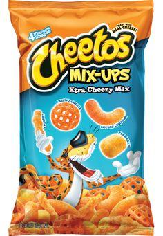 Cheetos Mix-Ups Xtra Cheezy Mix Flavored Snack Mix, 8 oz Cheetos Cheese, Cheetos Puffs, Bag Of Cheetos, Cheetos Crunchy, Nacho Cheese, Yummy Snacks, Snack Recipes, Frito Lay, Sugar Donut