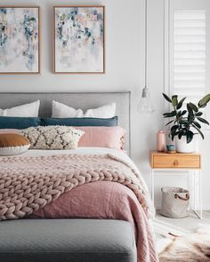 Interior Design | Think Pink: 60 Elegant Millenial Pink Interior Ideas That Will Have You Whipping Out Your Paint Roller In No Time
