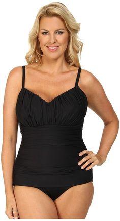 6d5d41332d Miraclesuit Plus Size Solid Rialto Swimsuit Swimwear Sale