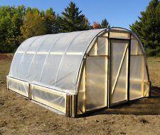 hoophouse greenhouse pvc diy - Google Search