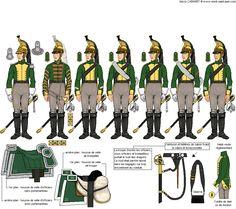 Titre de l'image 1er Escadron du 20ème Régiment de Dragons compagnie du centre