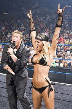 Wrestler Ashley Massaro