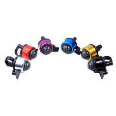 Bike Bicycle Invisible Bell Aluminum Loud Sound Compass Handlebar Safety HornkSF