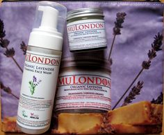 """MuLondon Lavender collection on """"Elena's Beauty Finds"""":    """"It's easily absorbed and distributed on the skin. The cream, despite its density, does not clog my pores. I like to put it on at night and it makes me sleep better :)""""  http://beauty-finds.livejournal.com/44723.html"""