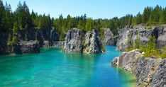 This Hidden Gem Lake In BC (Texada Island) Is Literally Paradise On Earth featured image Oh The Places You'll Go, Places To Travel, Places To Visit, Travel Local, Travel Destinations, Quarry Lake, Voyage Canada, Paradise On Earth, Swimming Holes