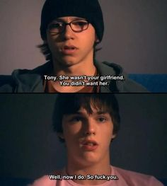 Tony from skins dating advice