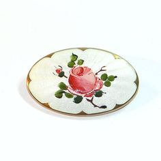 Sterling Guilloche Pink Cabbage Rose Ivar T Holthe Brooch by Betsysbijoux on Etsy https://www.etsy.com/listing/201344471/sterling-guilloche-pink-cabbage-rose
