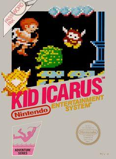 kid icarus nes cover - Google Search