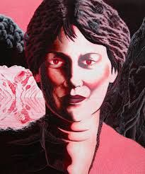 Image result for Portrait painting helen clark