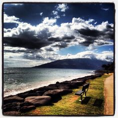 Maui is one of the most serene places you could be. I took this photo after I had the most amazing swim ever. Breathtaking.