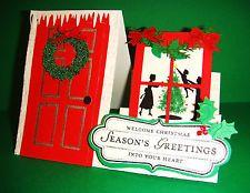 ~Stampin Up ~  Welcome Christmas~ Side Step ~ Christmas Card Kit ~ (4)