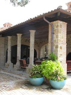Cabana Patio - Casa Espanola