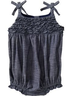 Old Navy | Chambray Rompers for Baby