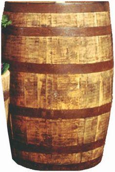 Real Wood Products WWB-EAST Oak Whiskey Barrel - $111.00