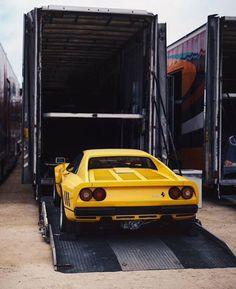 Loading a Ferrari