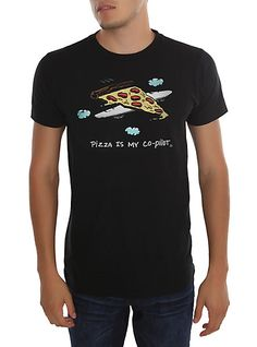 Pizza Is My Co-Pilot T-Shirt | Hot Topic
