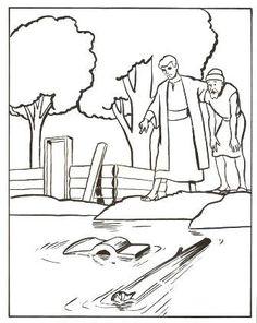 """Eliseo se encontró con unos jóvenes que querían ser profetas. Ellos tenían un problema que necesitaban resolver. """"El lugar en el que vi..."""