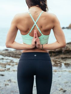 as a massage therapist, this is one of my go to postures for releasing tension in my shoulders, arms, and wrists... yogamattie.com