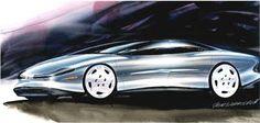 ca. 1980s oldsmobile concept,(c) g. durmisevich, gm co, inc. {Automotive Concept Design by Glen Durmisevich at Coroflot.com}