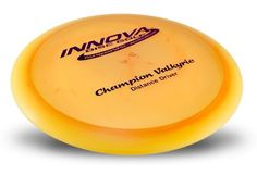 Champion Valkyrie 165-170g by Innova. $12.80. The Valkyrie currently holds the World Record at 820'. In lighter weights gives new players extra distance. Lighter weights also give players extreme range when thrown downwind, while maximum weights can give excellent upwind distance. The Valkyrie's high speed turn and flight characteristics make it great choice for long range turnover shots and rollers.  Please contact us by email for more specific weight or color...