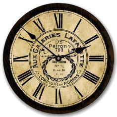 Galeries Lafayette Clock, thebigclockstore.com