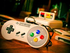 Super Nintendo. My brother still has his. I should see if I can play it one day. :)