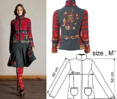Ivko Woman's Lambswool Sweater with Alpine Patchwork Design Style 22702 in RED. Ivko style 22702, traditional Alpine details. 100% extra fine lambswool. Ribbon, painted wooden button, stitching and locket embellishments.Red and grey base colors. Length 23 inches. Made in Belgrade, Serbia.