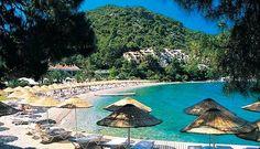Hillside Beach Club- Fethiye, Turkey I love this place! Beautiful Places In The World, Wonderful Places, Beautiful Beaches, Marmaris, Hillside Beach Club, Turkey Photos, Turkey Travel, Holiday Destinations, Strand