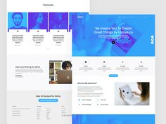 Inspire is a free Bootstrap 4 HTML5 template best to use for any type of website it suits with. This multipurpose template is built with the latest web. Css Website Templates, Bootstrap Template, Html Css, Web Technology, Social Media Icons, Inspire, Suits, Type, Inspiration