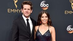 America Ferrera and her husband R.P. Williams are expecting... (Alberto E. Rodriguez / Getty Images)