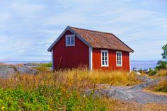 'The+small+chapel+on+the+island+of+Svartloga+in+the+Archipelago+of+Stockholm,+Sweden.'+by+kbhsphoto+on+artflakes.com+as+poster+or+art+print+$24.26
