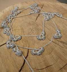 Beaded Crochet Lariat by gwengoods, via Flickr