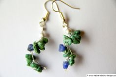 Ohrringe Türkismeer Cool Things To Make, How To Make, Shops, Drop Earrings, Jewelry, Creative Products, Chain, Tents, Bijoux