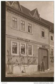 Germany, real photo postcard - echte photographier - to identify