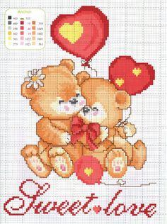ours en peluche Saint-Valentin
