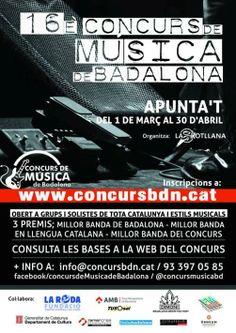 16è Concurs de Música de Badalona (2014)
