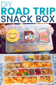 Family Road Trip Essentials & DIY Road Trip Snack Box (ad) Use to give your snack box the crispy snack it needs! Road Trip Packing List, Road Trip Food, Road Trip Essentials, Packing Tips For Travel, Good Road Trip Snacks, Summer Essentials, Road Trip Activities, Road Trip Games, Road Trip With Kids