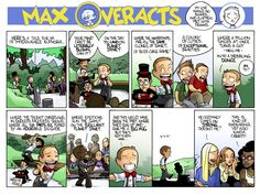 Max is thus far the best successor to Calvin out there.  With his own little twists.